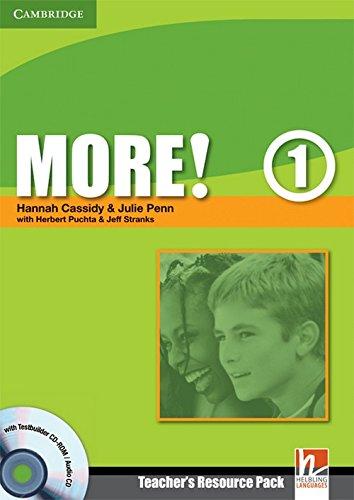 9780521712965: More! Level 1 Teacher's Resource Pack with Testbuilder CD-ROM/Audio CD