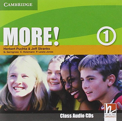 9780521712972: More! Level 1 Class Audio CDs