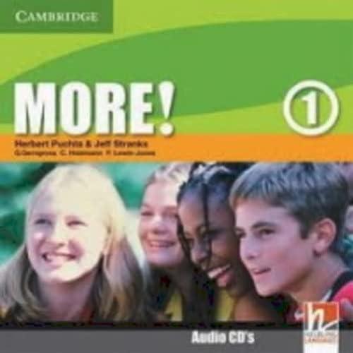 9780521712972: More! Level 1 Class Audio CDs