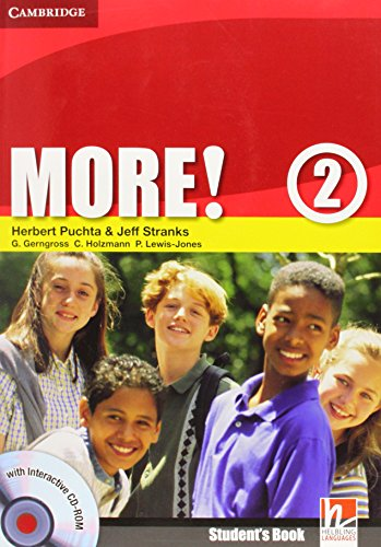 9780521713009: More! 2 Student's Book with Interactive CD-ROM: Level 2