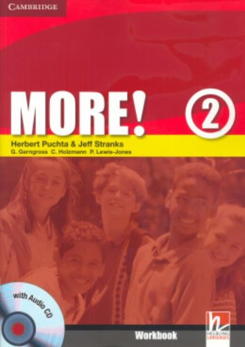 9780521713016: More! Level 2 Workbook with Audio CD