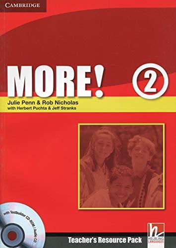 9780521713030: More! Level 2 Teacher's Resource Pack with Testbuilder CD-ROM/Audio CD