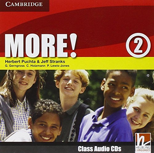 9780521713047: More! Level 2 Class Audio CDs