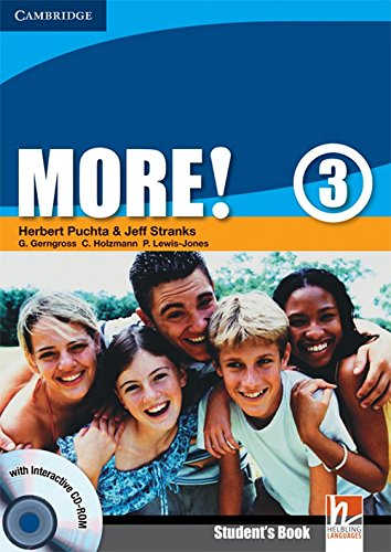 9780521713078: More!  3 Student's Book with Interactive CD-ROM: Level 3