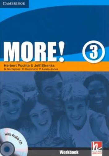 9780521713085: More! Level 3 Workbook with Audio CD