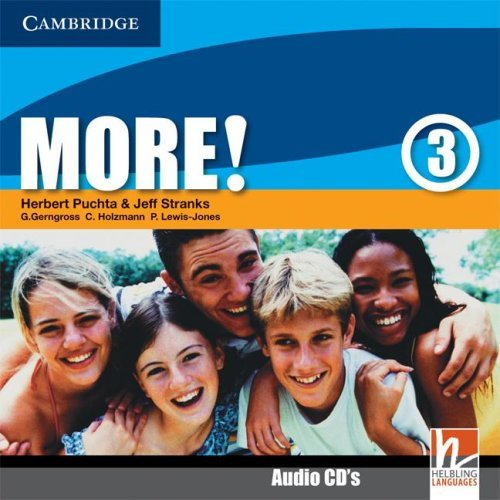 9780521713115: More! Level 3 Class Audio CDs