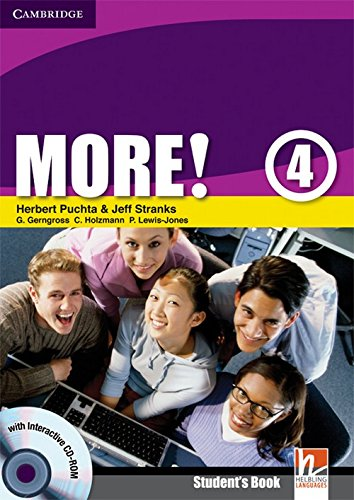 9780521713146: More! 4 Student's Book with Interactive CD-ROM: Level 4