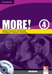 9780521713153: More! Level 4 Workbook with Audio CD