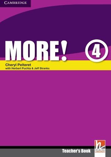 9780521713160: More! Level 4 Teacher's Book