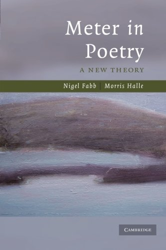 9780521713252: Meter in Poetry: A New Theory