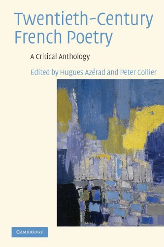 Twentieth-Century French Poetry A Critical Anthology