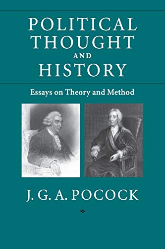 9780521714068: Political Thought and History: Essays on Theory and Method