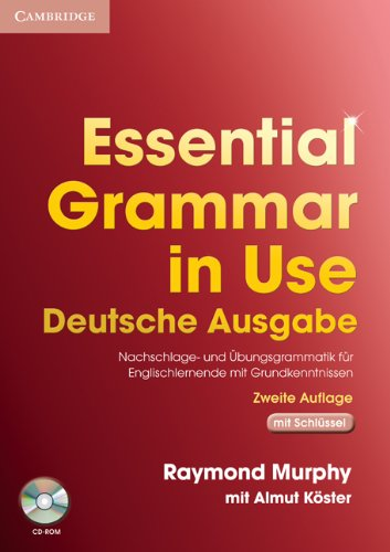 9780521714105: Essential Grammar in Use German Edition with Answers and CD-ROM
