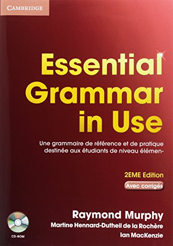 9780521714112: Essential Grammar in Use Student Book with Answers and CD-ROM French Edition
