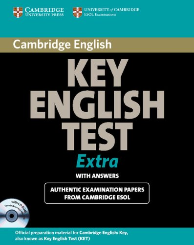 9780521714341: Cambridge Key English Test Extra Student's Book with Answers and CD-ROM (KET Practice Tests)