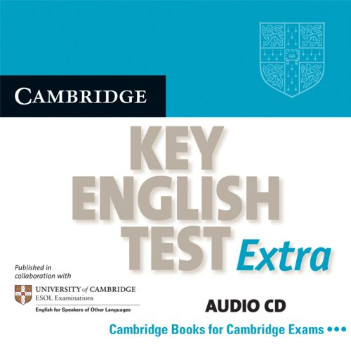 9780521714365: Cambridge Key English Test Extra Audio CD