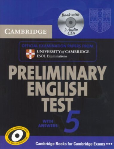 9780521714396: Cambridge Preliminary English Test 5 Self-study Pack (includes Audio CD) (PET Practice Tests)