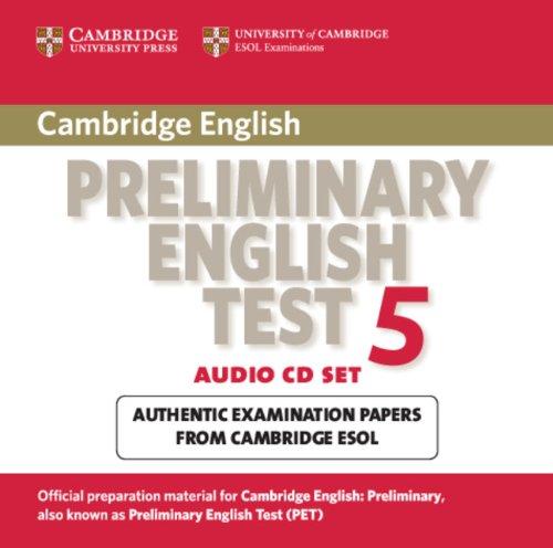 9780521714402: Cambridge Preliminary English Test 5 Audio CD Set (2 CDs): Paper 5 (PET Practice Tests)