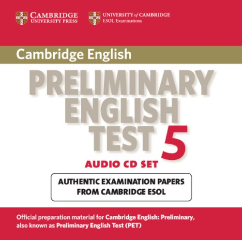 9780521714402 Cambridge Preliminary English Test 5 Audio Cd Set 2 Cds Pet Practice Tests Abebooks Cambridge Esol 0521714400
