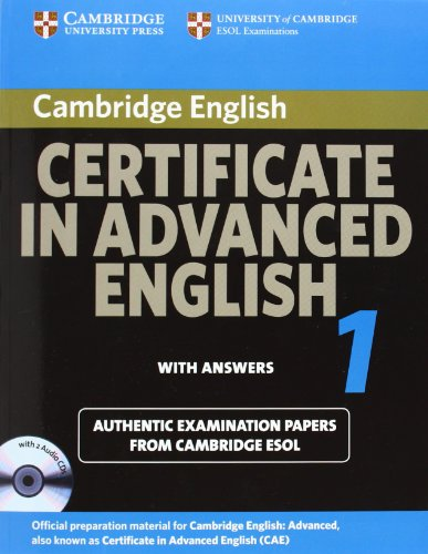 9780521714433: Cambridge Certificate in Advanced English 1 for updated exam Self-study Pack: Official Examination Papers from University of Cambridge ESOL Examinations: Paper 1 (CAE Practice Tests)
