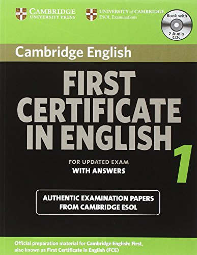 9780521714518: Cambridge first certificate in English 1 for updated exam. Self-study pack (Student's Book with answers and Audio CDs)