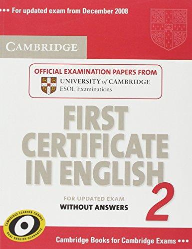 9780521714532: Cambridge first certificate in english. For updated exam. Student's book. Per le Scuole superiori: 2