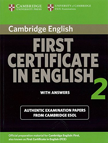 9780521714549: Cambridge First Certificate in English 2 for Updated Exam Student's Book with answers: Official Examination papers from University of Cambridge ESOL Examinations (FCE Practice Tests) (No. 2)