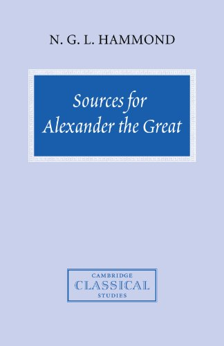 9780521714716: Sources for Alexander the Great: An Analysis of Plutarch's 'Life' and Arrian's 'Anabasis Alexandrou' (Cambridge Classical Studies)