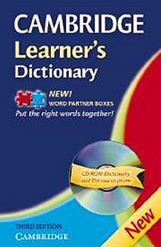 Cambridge Learners Dictionary With Cd 3ed: CUP