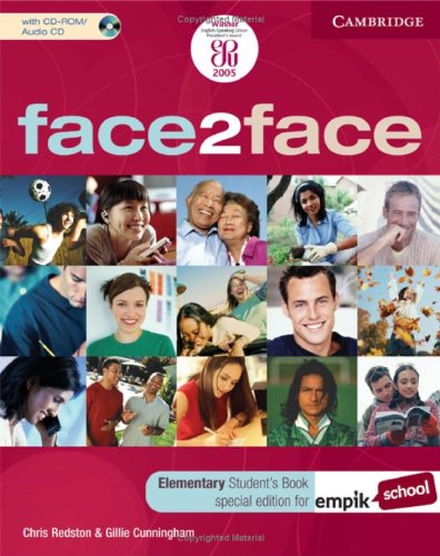 9780521714976: face2face Elementary Student's Book with CD-ROM/Audio CD EMPIK Polish Edition