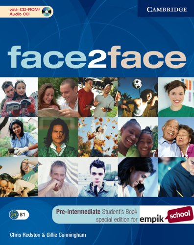 9780521714990: face2face Pre-intermediate Student's Book with CD-ROM/Audio CD EMPIK Polish edition