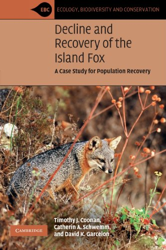 9780521715102: Decline and Recovery of the Island Fox: A Case Study for Population Recovery (Ecology, Biodiversity and Conservation)