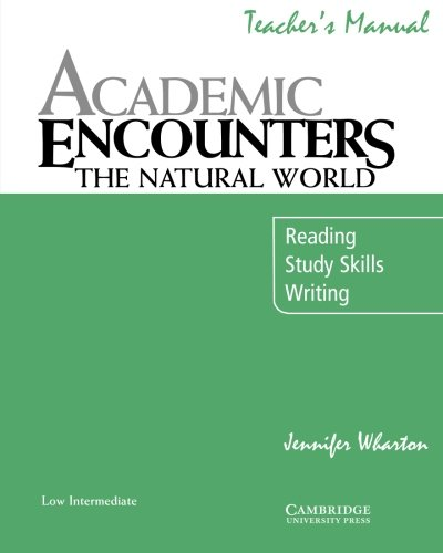 9780521715171: Academic Encounters: The Natural World Teacher's Manual: Reading, Study Skills, and Writing