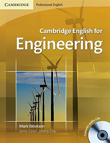 9780521715188: Cambridge English for Engineering Student's Book with Audio CDs (2)