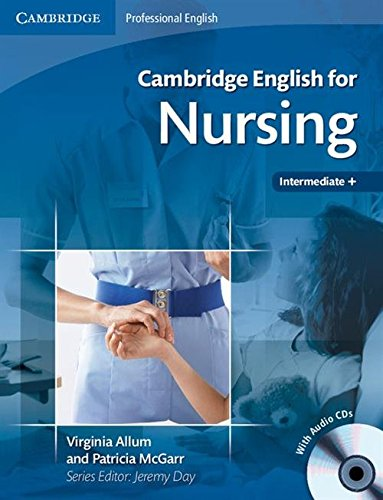 9780521715409: Cambridge English for Nursing Intermediate Plus Student's Book with Audio CDs (2)