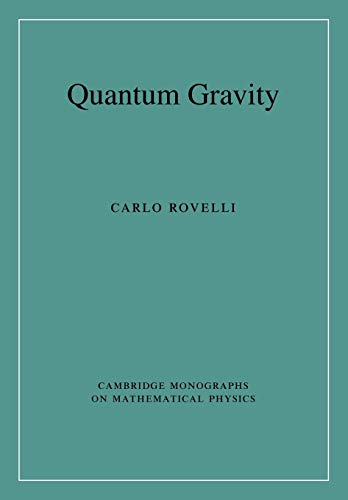 9780521715966: Quantum Gravity (Cambridge Monographs on Mathematical Physics)