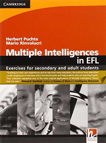 9780521716116: Multiple Intelligences in EFL: Exercises for Secondary and Adult Students