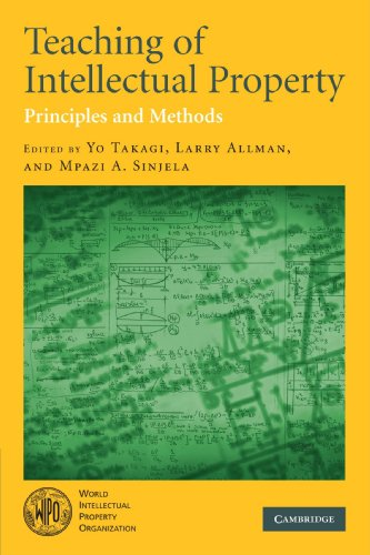 9780521716468: Teaching of Intellectual Property: Principles and Methods
