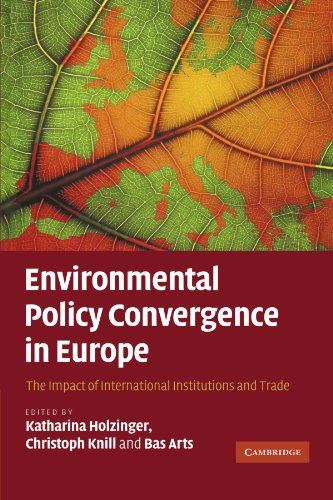 Environmental Policy Convergence in Europe: The Impact of International Institutions and Trade