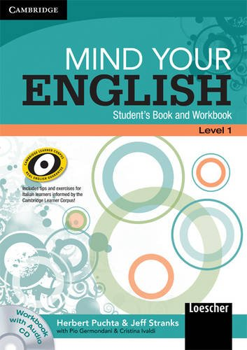 9780521717526: Mind your English Level 1 Student's Book and Workbook with Audio CD (Italian Edition) (English in Mind)