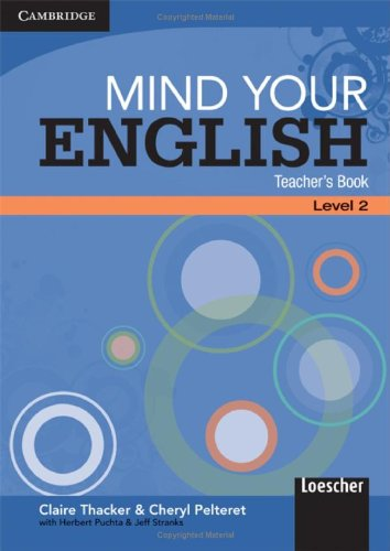 9780521717595: Mind Your English Level 2 Teacher's Book Italian Edition (English in Mind)
