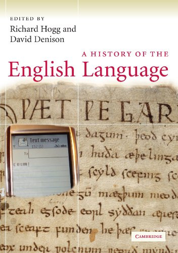 9780521717991: A History of the English Language