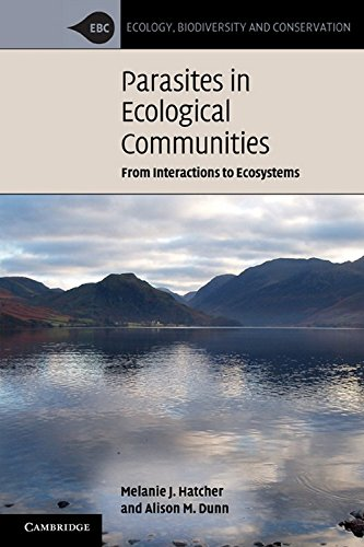 9780521718226: Parasites in Ecological Communities: From Interactions to Ecosystems (Ecology, Biodiversity and Conservation)