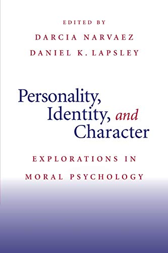 9780521719278: Personality, Identity, and Character: Explorations in Moral Psychology