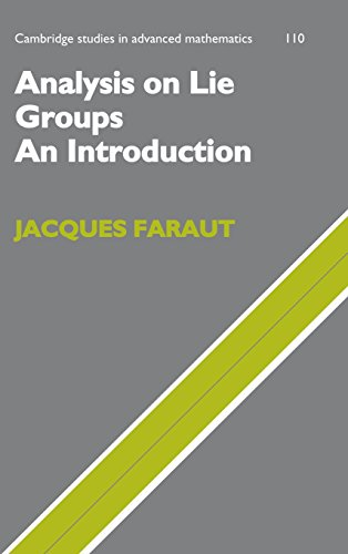 9780521719308: Analysis on Lie Groups: An Introduction