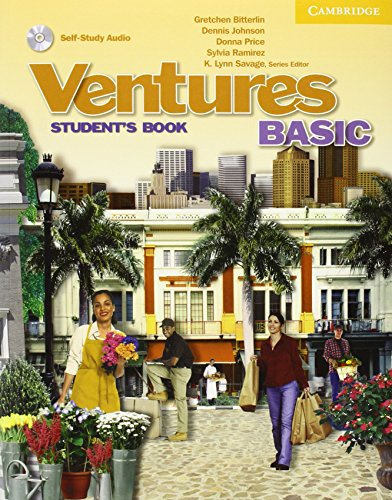 9780521719827: Ventures Basic Student's Book with Audio CD