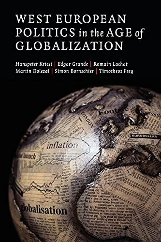 9780521719902: West European Politics in the Age of Globalization Paperback