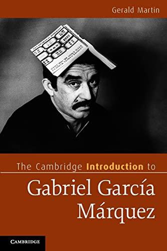 9780521719926: The Cambridge Introduction to Gabriel García Márquez (Cambridge Introductions to Literature)