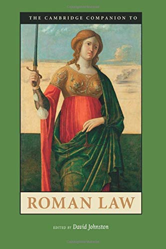 9780521719940: The Cambridge Companion to Roman Law (Cambridge Companions to the Ancient World)