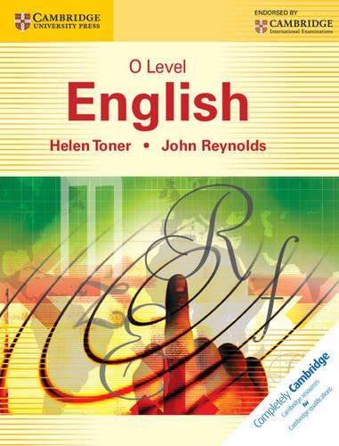 O Level English: Helen Toner & John Reynolds